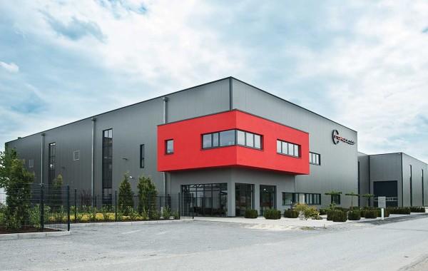 Moderner Büro- und Gewerbebau in Brockhagen