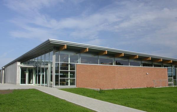 Neubau einer 3-fach Sporthalle