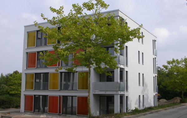 Neubau von 76 Studentenwohnungen