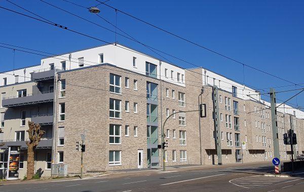 Mehrfamilienhaus mit 81 Wohnungen